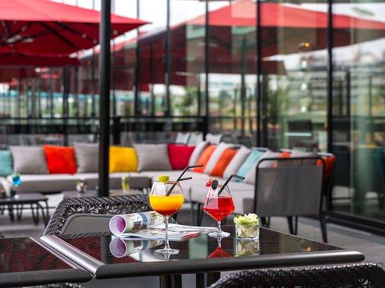 Hotel's bar terrace