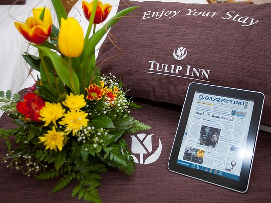 Tulip Inn Padova: Free wi-fi connection