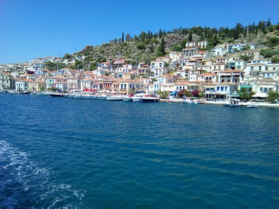 Greece: One of the many islands that are a half hour away from Athens, a vacation within the actual vacation