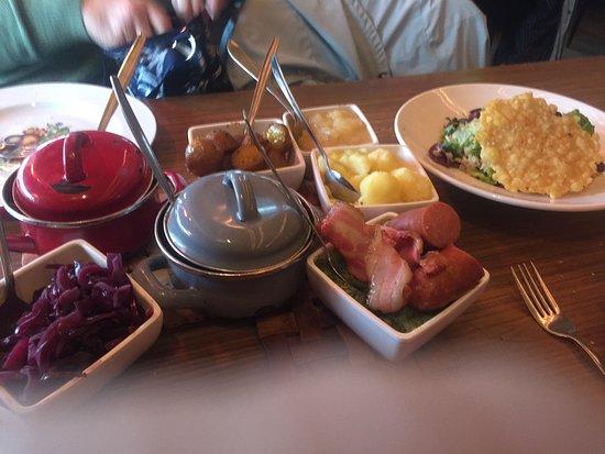 Hollandse Rijsttafel / Dutch Ricedish- combination of Dutch specialities