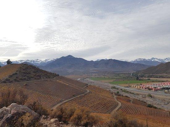 Inca Lagoon in Portillo Andes Mountains - Arqueologic Park & Wine Tasting – fotografia