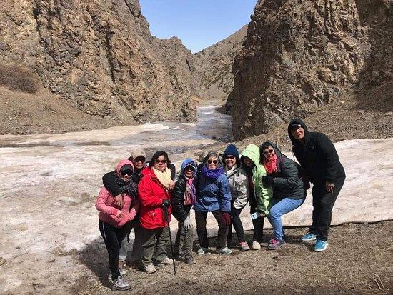 Mongolia: Icy Yoliin am, South Gobi in May
