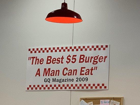 Great Burger meat &  atmosphere