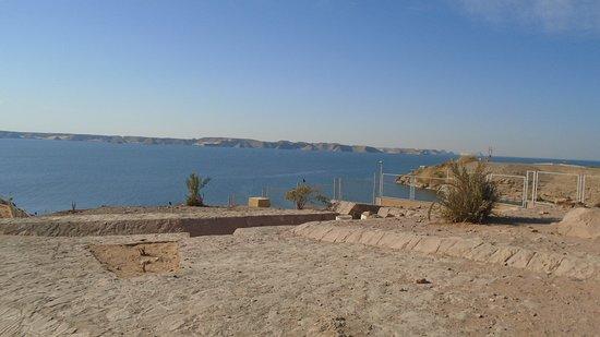 Κοιλάδα του ποταμού Νείλου, Αίγυπτος: Lake Nasser at Abu Simbel