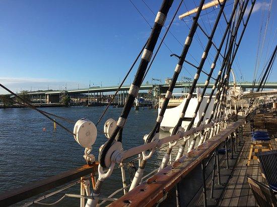 Hotell Barken Viking: Hafenblick von der Barken Viking aus