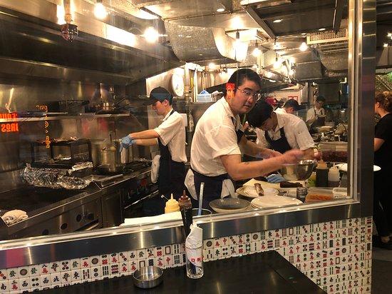 Ho Lee Fook - open kitchen