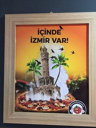 Günlük taze hamur pizzasi ile Tirede tek pizzaci.