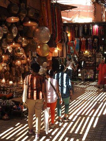 Little alleyways of the medina