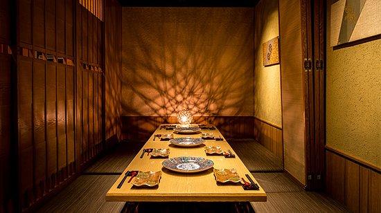 ◆団体様に大人気◆上品な個室を完備