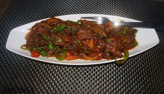 Cota Cozinha: Beef Chilly fry
