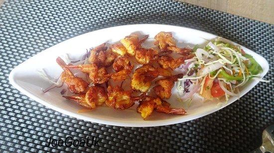 Cota Cozinha: Prawns plain fry