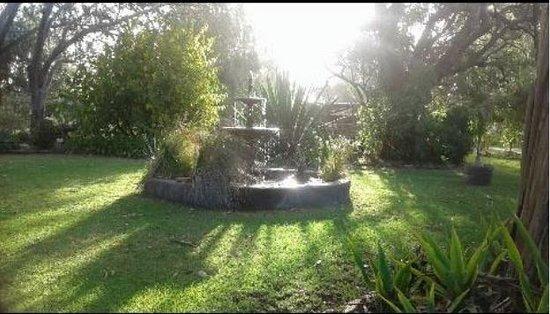 Vasse, ออสเตรเลีย: Fountain adjacent to cottage