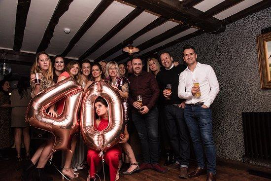 Fab 40th birthday party