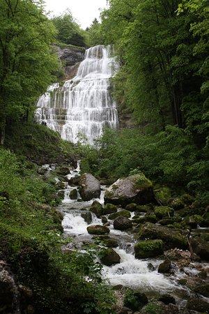 Les Cascades du Herisson: l'éventail