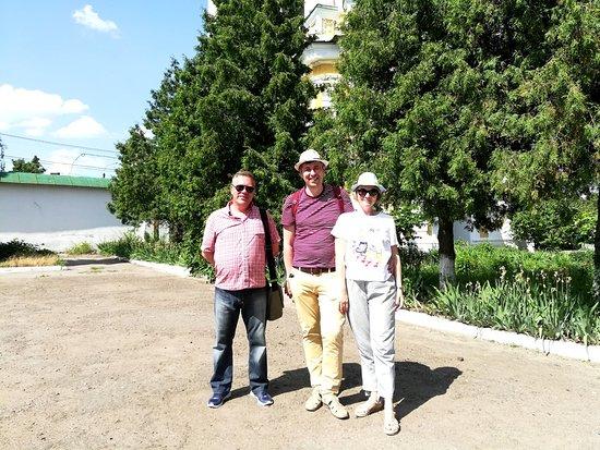 Чернигов. С гостями из Киева в Троицком монастыре. Июнь 2019 года.