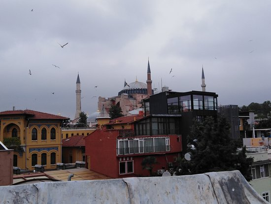 View from our room - The Hagia Sophia