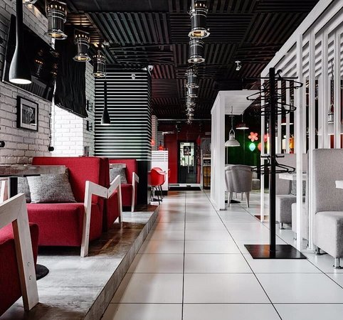 Уютный интерьер в стиле светлого лофта позволит вам прекрасно и непринужденно провести свое время