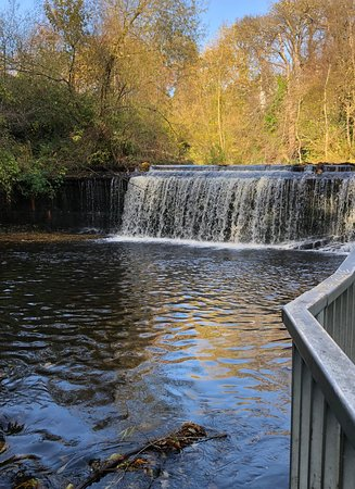 Weir along the Lieth Walkway