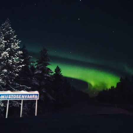 Ruka, Finland: Northern lights