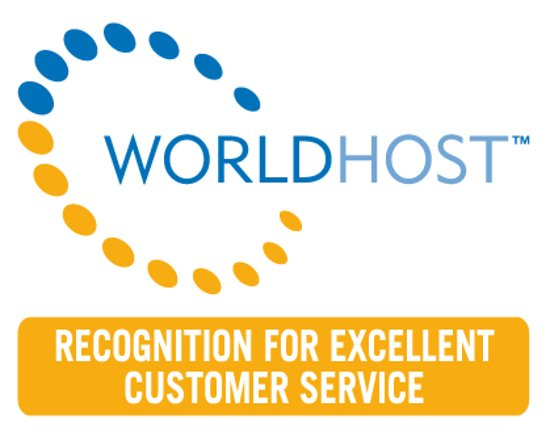 Tigh Na Cloich Hotel: World Host Customer Service recognition award