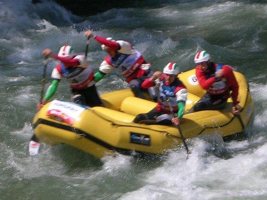 Jagerhaus: Rafting nel torrente Noce a 100 metri