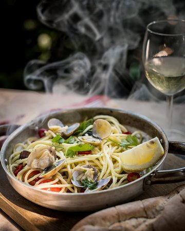 Pizzeria Casavostra: Spaghetti vongole | special of the month | Especial do mês
