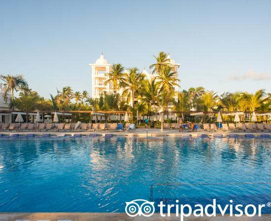 The Main Pool at the Hotel Riu Palace Punta Cana
