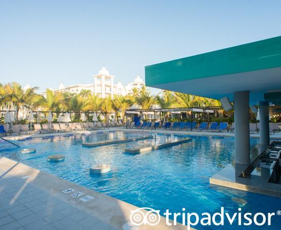 Pool Bar at the Hotel Riu Palace Punta Cana