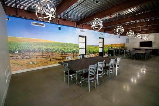 Broken Earth Winery: Our conference room for your meetings, educational seminars and more.