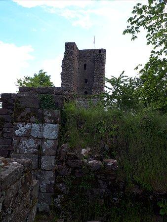Haegen, France: Руины замка