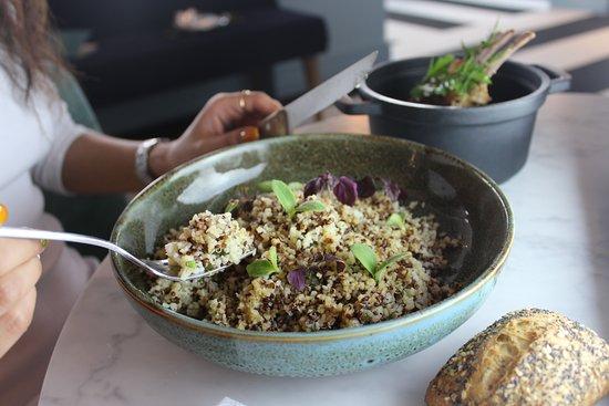 Boulgour, quinoa... Découvrez notre bar à céréales