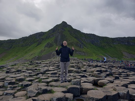 Giant's Causeway, Belfast Titanic Experience And Dark Hedges Tour from Dublin: The Giant's Causeways. You should touch Atlantic and taste the water!