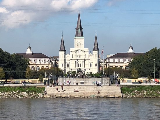 Steamboat Natchez Harbor Cruise: St. Louis Cathedral 