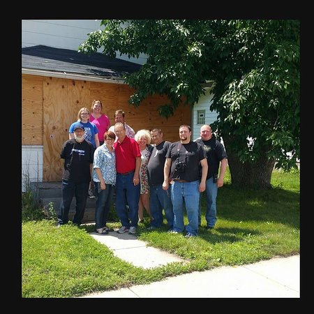 """On a special road trip to Gary Indiana to see the Demon House, which was featured in """"The Demon House"""" film by Zak Bagans of Ghost Adventures."""