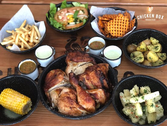 Whole Chicken With Sides
