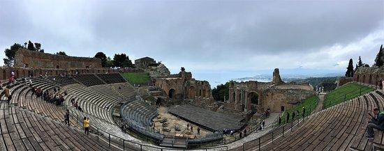 The amphitheatre at Taormina