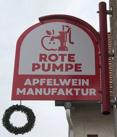 Rote Pumpe