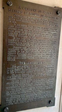 Perry's Victory Memorial Plaque