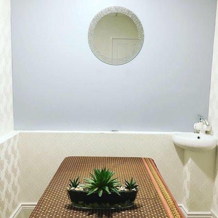 Thai Derm Massage: Treatment room