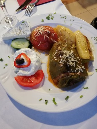 Kelariko Restaurant: Stuffed vegetables