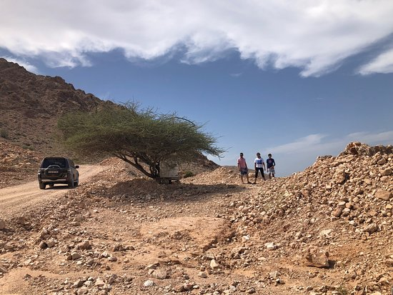 A must do adventure approx 2 hours from muscat. Breath taking views from the mountains. We didn't climb down into the caves though we loved the picturesque drive. 4WD highly recommended. Can be clubbed into a day trip with Bima sink hole.
