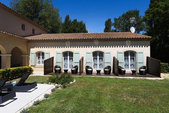 "Hôtel La Bastide Saint Martin: Terrasses chambres ""privilège"""
