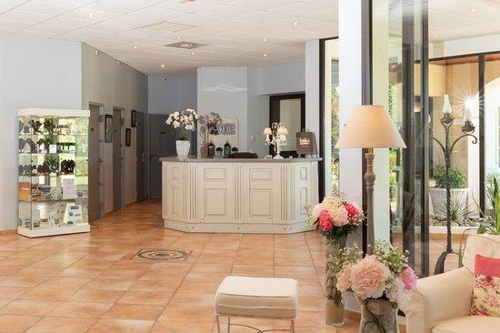 Hôtel La Bastide Saint Martin: Réception