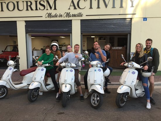 Awesome scooters - Review of VitaLoca, Marseille, France