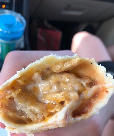 Chicken burritos!