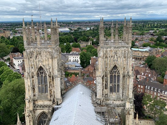 ‪York Minster Tower Climb‬