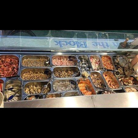 All fresh from Billingsgate market every week 😁