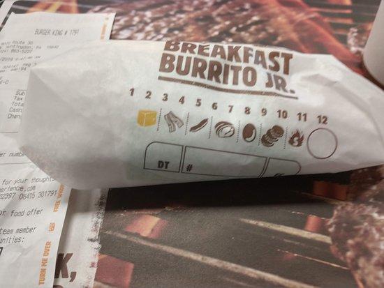 Burger King: Breakfast Burrito Jr
