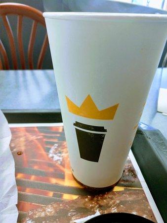 Burger King: coffee