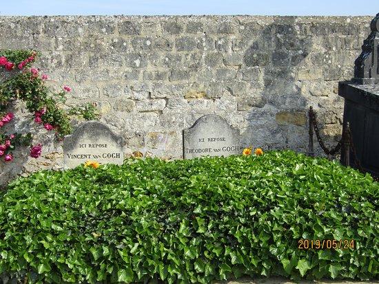 Tombe de Vincent van Gogh